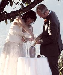 sand and pebble ceremony